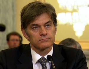 Image of Dr. Oz via CNN.